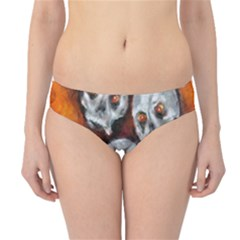 Halloween Skulls No  4 Hipster Bikini Bottoms by timelessartoncanvas