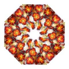 Fall Flowers Straight Umbrellas by timelessartoncanvas