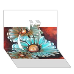 Fall Flowers No  2 Apple 3d Greeting Card (7x5)