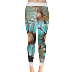Fall Flowers No  2 Women s Leggings by timelessartoncanvas