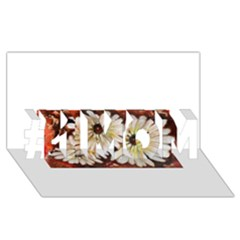 Fall Flowers No  3 #1 Mom 3d Greeting Cards (8x4)