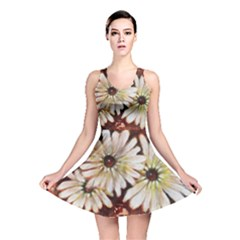 Fall Flowers No  3 Reversible Skater Dresses by timelessartoncanvas