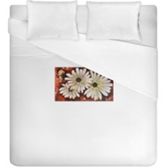 Fall Flowers No  3 Duvet Cover Single Side (kingsize) by timelessartoncanvas
