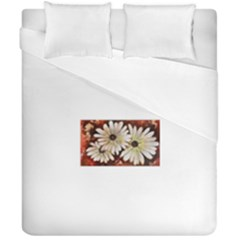 Fall Flowers No  3 Duvet Cover (double Size)