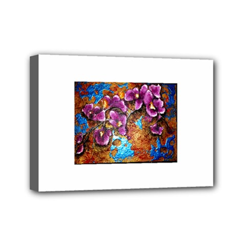 Fall Flowers No  5 Mini Canvas 7  X 5  by timelessartoncanvas
