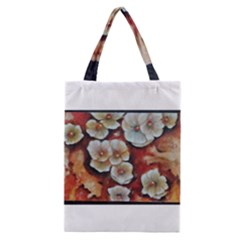 Fall Flowers No  6 Classic Tote Bags by timelessartoncanvas