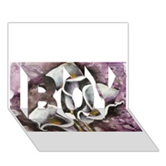 Gala Lilies Boy 3d Greeting Card (7x5) by timelessartoncanvas
