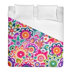Eden s Garden Duvet Cover Single Side (twin Size) by KirstenStar