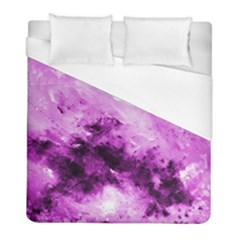 Bright Pink Abstract Duvet Cover Single Side (twin Size) by timelessartoncanvas