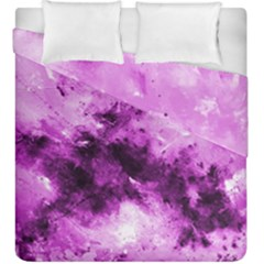 Bright Pink Abstract Duvet Cover (king Size) by timelessartoncanvas