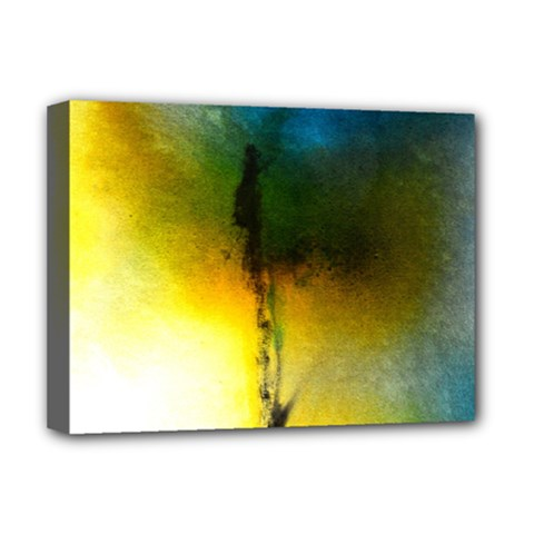 Watercolor Abstract Deluxe Canvas 16  X 12   by timelessartoncanvas