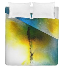 Watercolor Abstract Duvet Cover (full/queen Size) by timelessartoncanvas