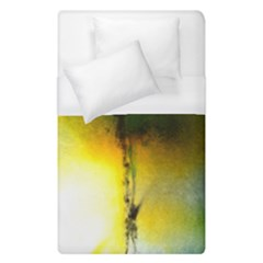 Watercolor Abstract Duvet Cover Single Side (single Size) by timelessartoncanvas