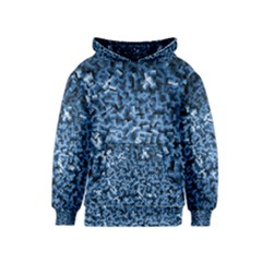 Blue Cubes Kid s Pullover Hoodies