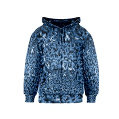 Blue Cubes Kids Zipper Hoodies
