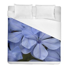 Bright Blue Flowers Duvet Cover Single Side (twin Size)