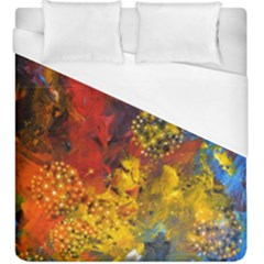 Space Pollen Duvet Cover Single Side (kingsize) by timelessartoncanvas