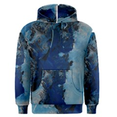 Blue Abstract No.2 Men s Pullover Hoodies