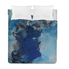 Blue Abstract No 2 Duvet Cover (twin Size)