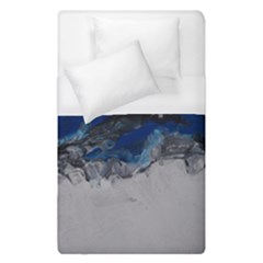 Blue Abstract No 4 Duvet Cover Single Side (single Size)