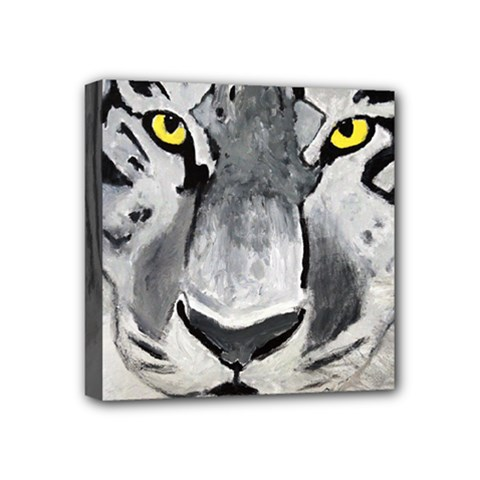The Eye If The Tiger Mini Canvas 4  X 4  by timelessartoncanvas
