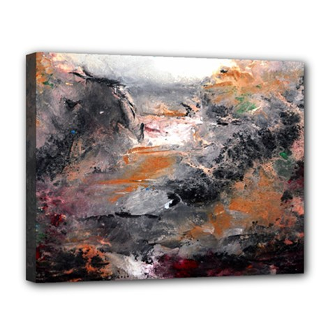 Natural Abstract Landscape Canvas 14  X 11  by timelessartoncanvas