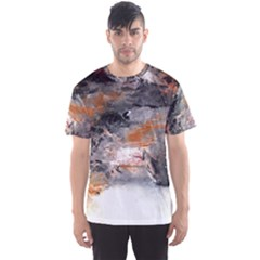 Natural Abstract Landscape No  2 Men s Sport Mesh Tees
