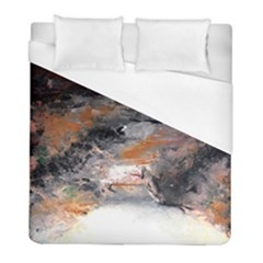 Natural Abstract Landscape No  2 Duvet Cover Single Side (twin Size) by timelessartoncanvas