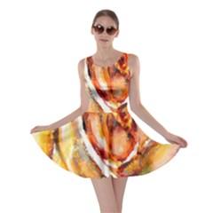 Abstract Rose Skater Dresses