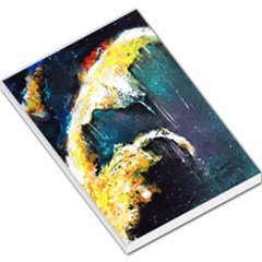 Abstract Space Nebula Large Memo Pads by timelessartoncanvas