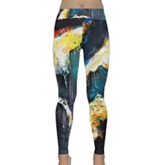Abstract Space Nebula Yoga Leggings by timelessartoncanvas