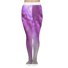 Purple Flower Pedal Women s Tights by timelessartoncanvas