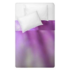 Purple Flower Pedal Duvet Cover (single Size) by timelessartoncanvas