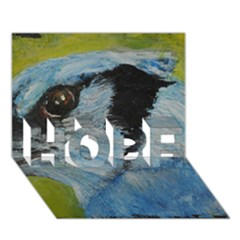 Blue Jay Hope 3d Greeting Card (7x5)