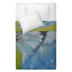 Blue Jay Duvet Cover (single Size) by timelessartoncanvas