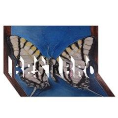 Butterfly Best Bro 3d Greeting Card (8x4)  by timelessartoncanvas