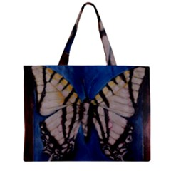 Butterfly Zipper Tiny Tote Bags by timelessartoncanvas
