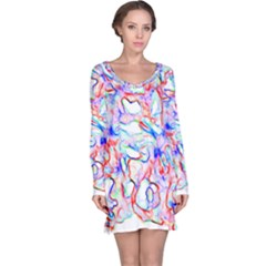 Soul Colour Light Long Sleeve Nightdresses by InsanityExpressed