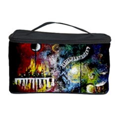 Abstract Music Painting Cosmetic Storage Cases by timelessartoncanvas