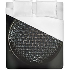 Modern Microphone Duvet Cover Single Side (Double Size)