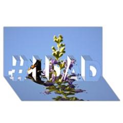 Bumble Bee 1 #1 Dad 3d Greeting Card (8x4)