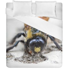 Bumble Bee 2 Duvet Cover (double Size) by timelessartoncanvas