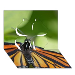 Butterfly 3 Clover 3d Greeting Card (7x5)