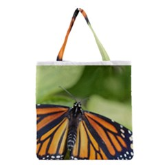 Butterfly 3 Grocery Tote Bags by timelessartoncanvas