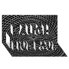 Spinning Out Of Control Laugh Live Love 3d Greeting Card (8x4)  by timelessartoncanvas