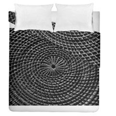 Spinning Out Of Control Duvet Cover (full/queen Size) by timelessartoncanvas
