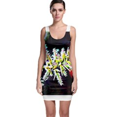 Digitally Enhanced Flower Bodycon Dresses by timelessartoncanvas
