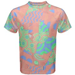 Tropical Summer Fruit Salad Men s Cotton Tee