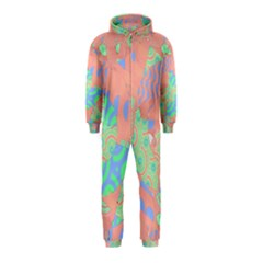 Tropical Summer Fruit Salad Hooded Jumpsuit (kids) by CrypticFragmentsColors