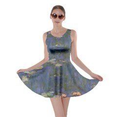 Claude Monet   Water Lilies Skater Dresses by ArtMuseum